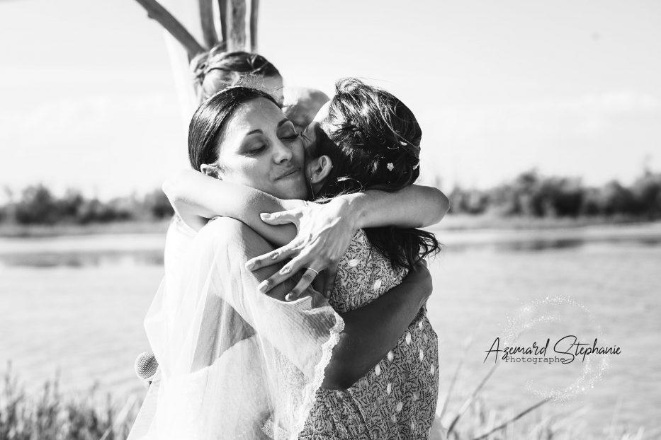 Cérémonie Laïque mariage champêtre photographié par Azemard Stéphanie photographe de mariage Avignon