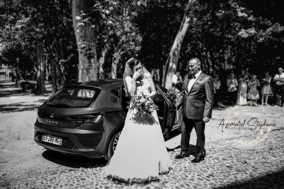 Découverte des mariée photographié par Azemard Stéphanie photographe de mariage Montpellier